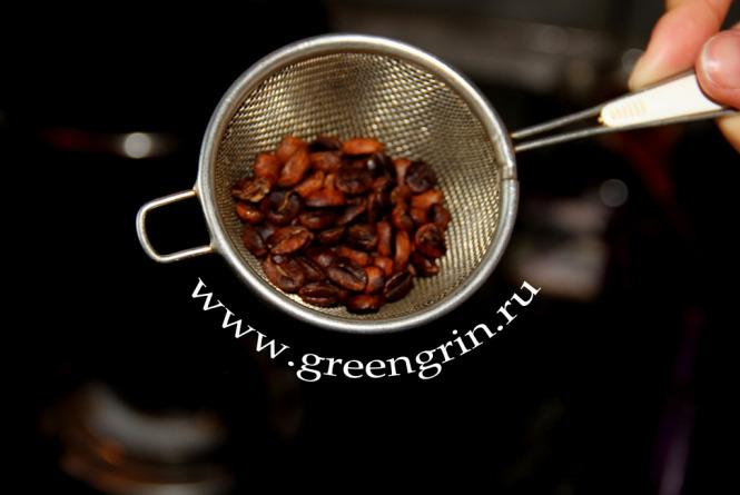 Как в домашних условиях обжарить зеленый кофе